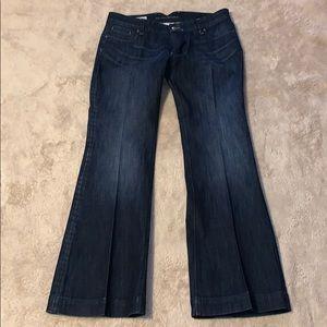 Banana Republic Classic Wide Leg Jean Size 12
